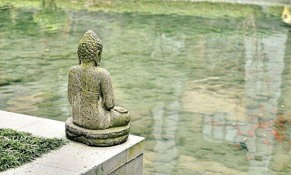 monaci buddhisti meditazione pace